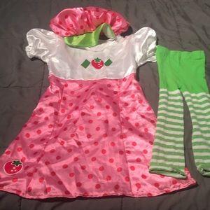 Other - Girls strawberry shortcake Halloween costume.
